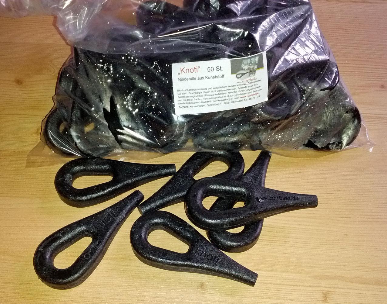 50 st knoti zurr se aus kunststoff bis ca 12mm seilst rke knoti. Black Bedroom Furniture Sets. Home Design Ideas