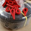 0,75- bundle set PP rope for approx. 30 bundles with 0.75 cubic meters diameter= 100 cm, Knoti red